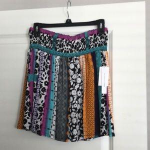 Mini skirt, juniors, size large